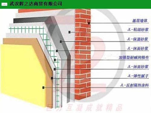 景德镇厂房反射隔热保温涂料施工 来电咨询 武汉辉之达商贸供应