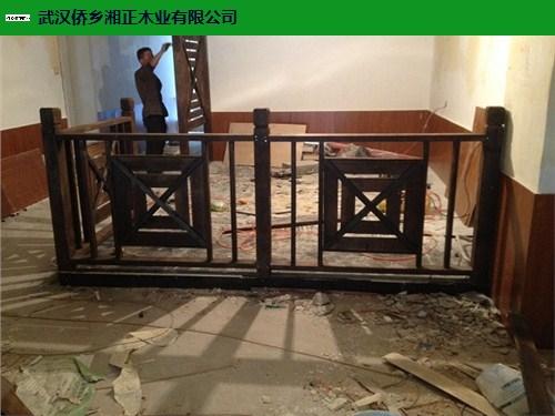 湖北优质防腐木护栏工程,防腐木护栏