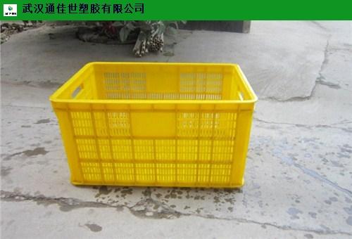 仙桃密眼塑料周转筐生产厂家 欢迎咨询 武汉通佳世塑胶供应