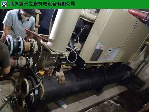 沌口网吧美的螺杆式中央空调保养 真诚推荐 武汉新兴立康机电设备工程供应