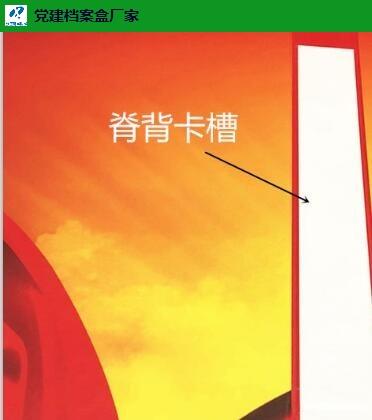 湖南PP塑料党建资料档案盒量大从优 现生档案用品供应