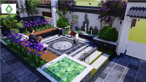 黄浦区官方私家庭院设计+施工一体要多少钱,私家庭院设计+施工一体