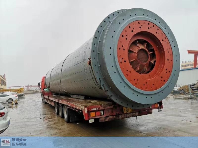常德知名重大件运输哪家强 苏州硕豪国际物流供应