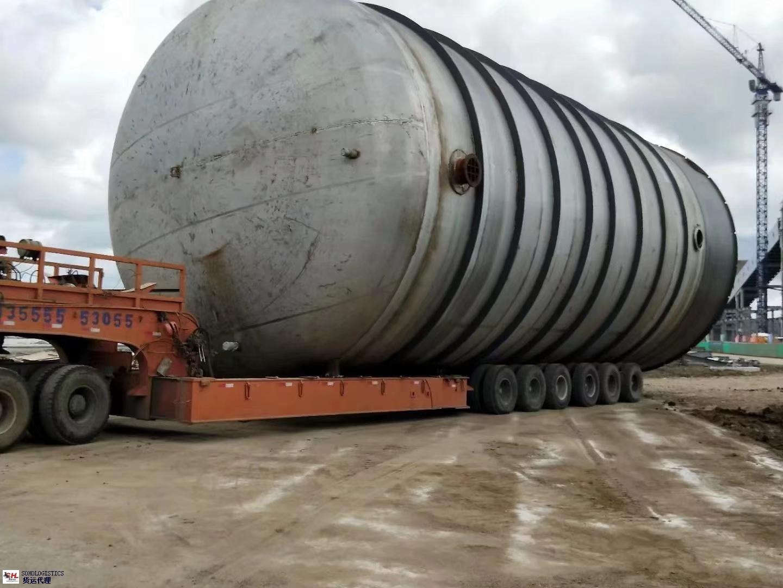 渭南进口重大件运输共同合作 苏州硕豪国际物流供应