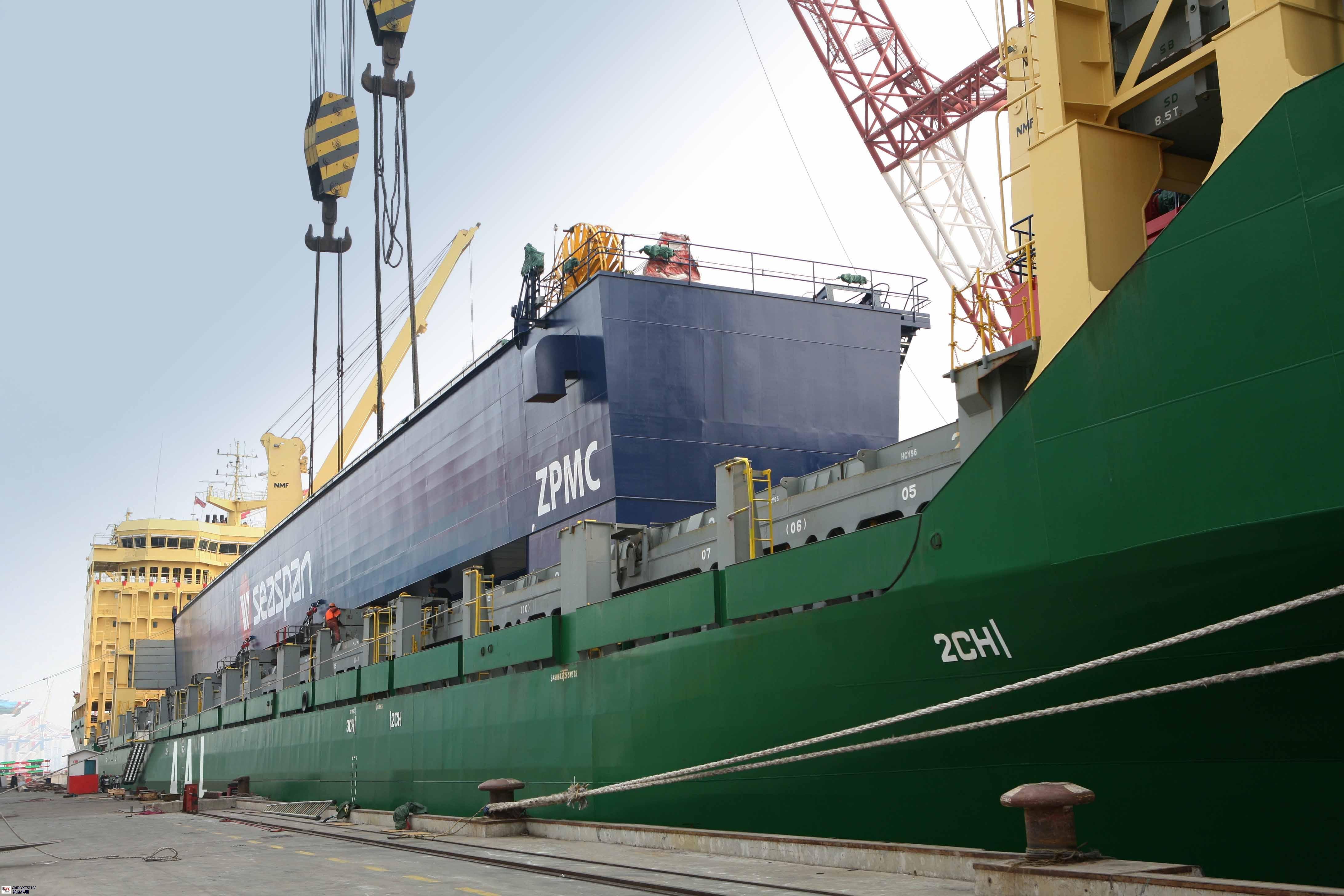 蓬江区重大件运输共同合作 苏州硕豪国际物流供应