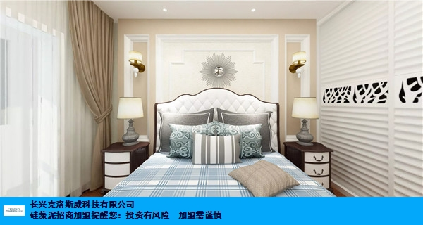 上海大品牌硅藻泥加盟项目 诚信互利 长兴克洛斯威科技供应