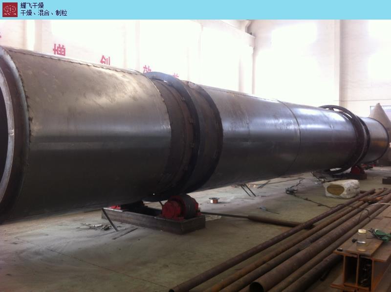 安徽酒糟回转滚筒干燥机厂家 欢迎来电 常州耀飞干燥设备供应