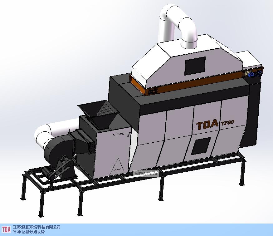 上饒造紙廠殘渣分選處理線 來電咨詢 江蘇道亞環境科技供應