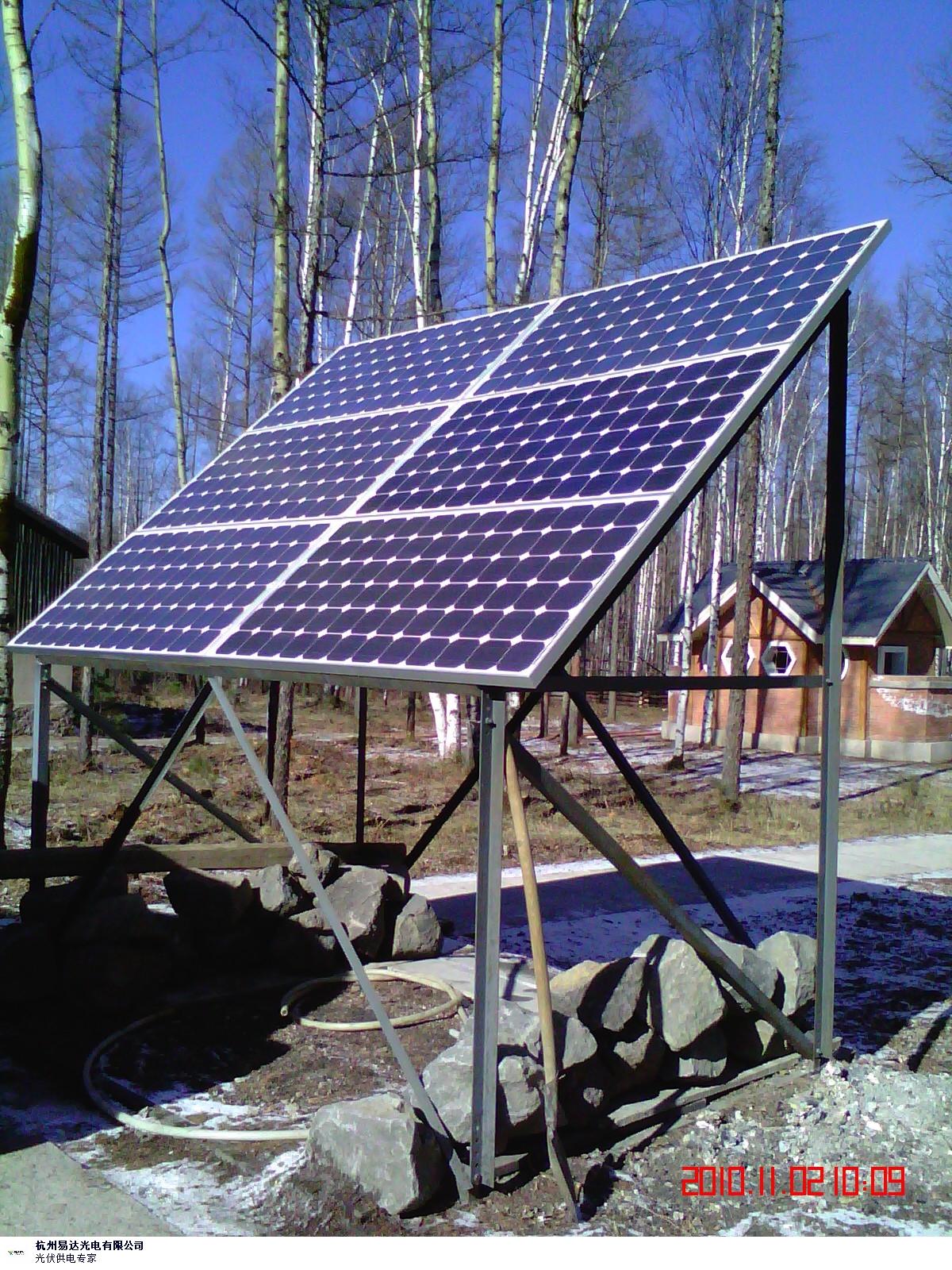 浙江安裝太陽能發電 抱誠守真 杭州易達光電供應