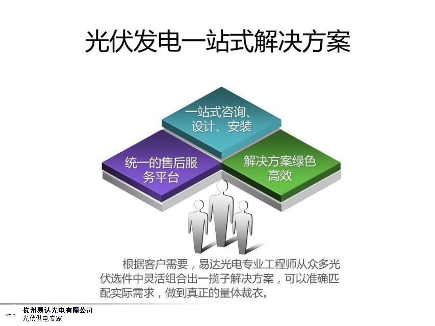 浙江專業太陽能發電 誠信為本 杭州易達光電供應