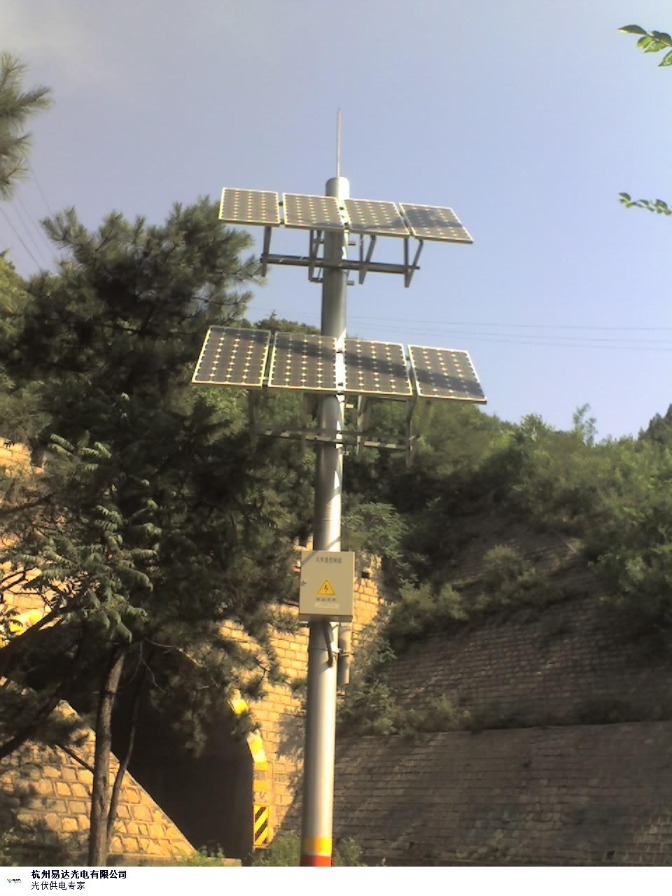 白银安防太阳能监控系统应用,太阳能监控