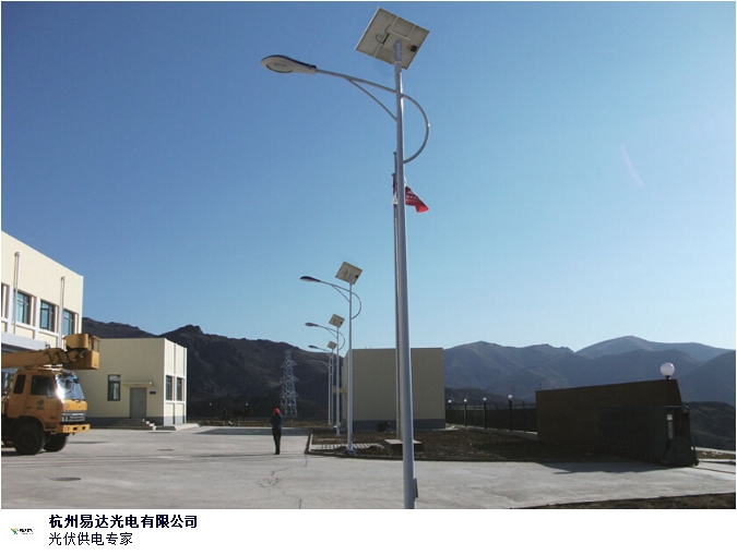 黑河庭院太阳能路灯系统安装,太阳能路灯