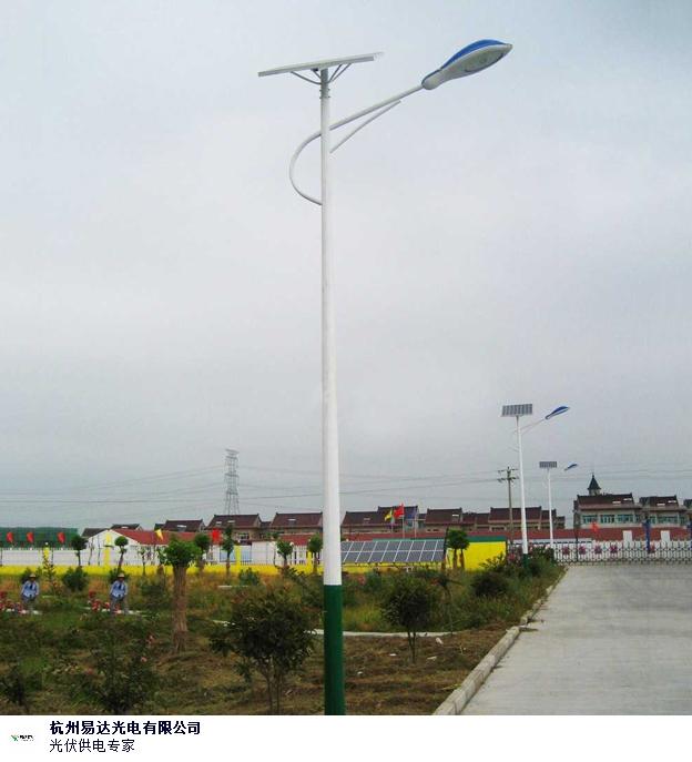 甘肃整套太阳能路灯品牌 和谐共赢 杭州易达光电供应