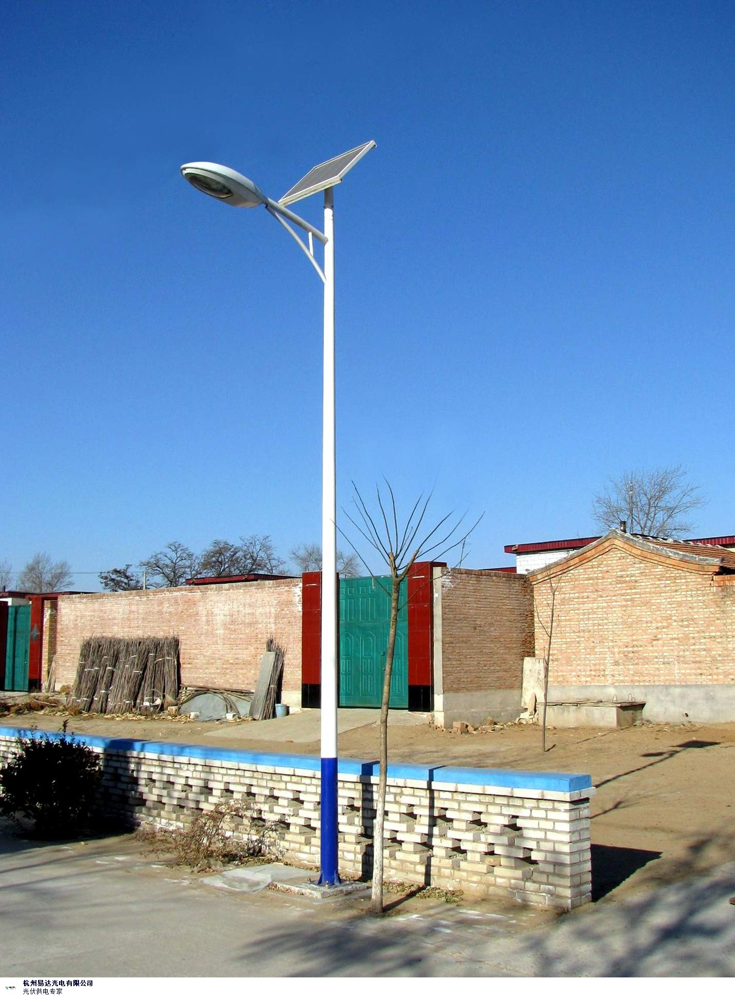 宁夏整套太阳能路灯价格低 抱诚守真 杭州易达光电供应
