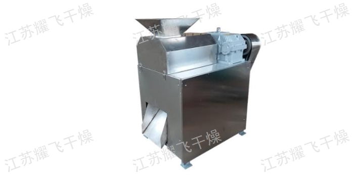 通化炭粉硫酸镁对辊造粒机生产线