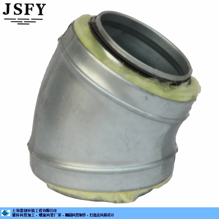提供上海市镀锌螺旋风管定做直销 上海雷创环境工程供应