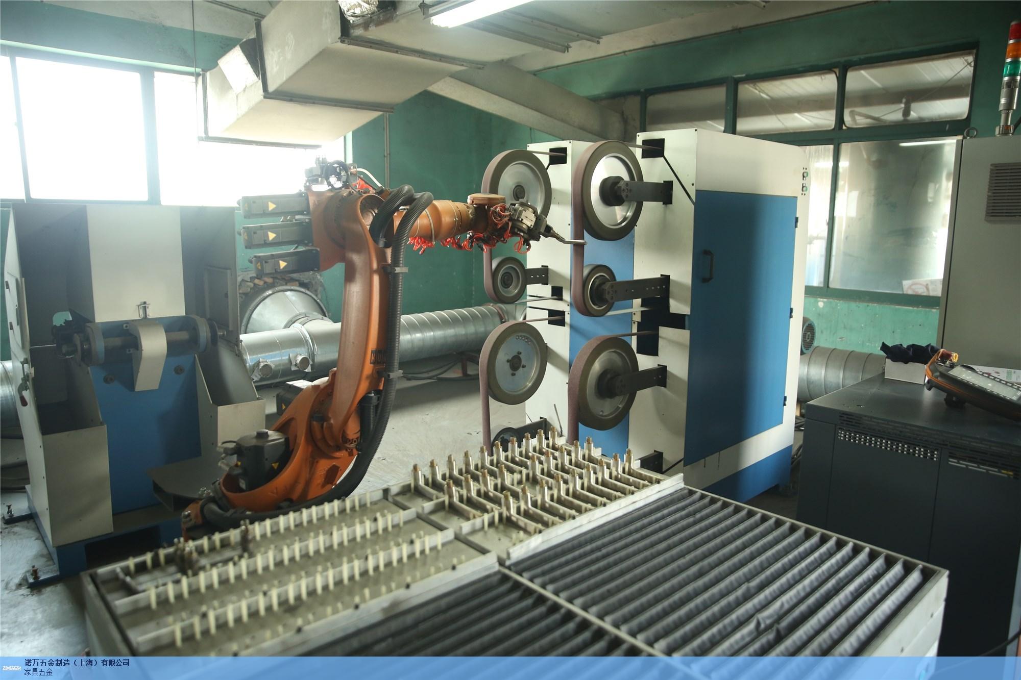 正规机器人抛光打磨源头直供厂家「诺万五金制造(上海)供应」