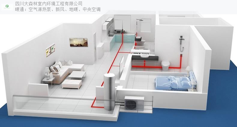 四川商用空气能热泵两联供,空气能热泵