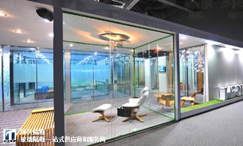 南通单层玻璃隔断上门安装,玻璃隔断