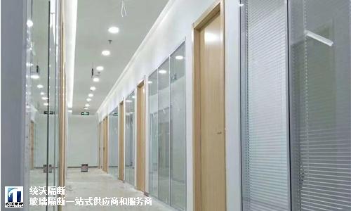 上海双玻百叶隔断需要多少钱,百叶隔断