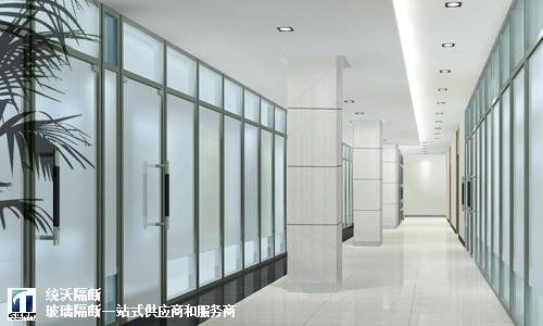 松江区8mm磨砂玻璃隔断需要多少钱,磨砂玻璃隔断