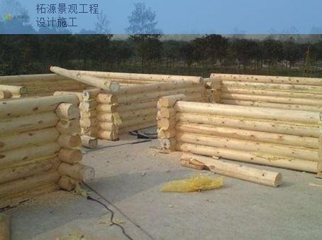 江蘇木房子設計施工供貨廠 客戶至上 上海柘源景觀工程供應