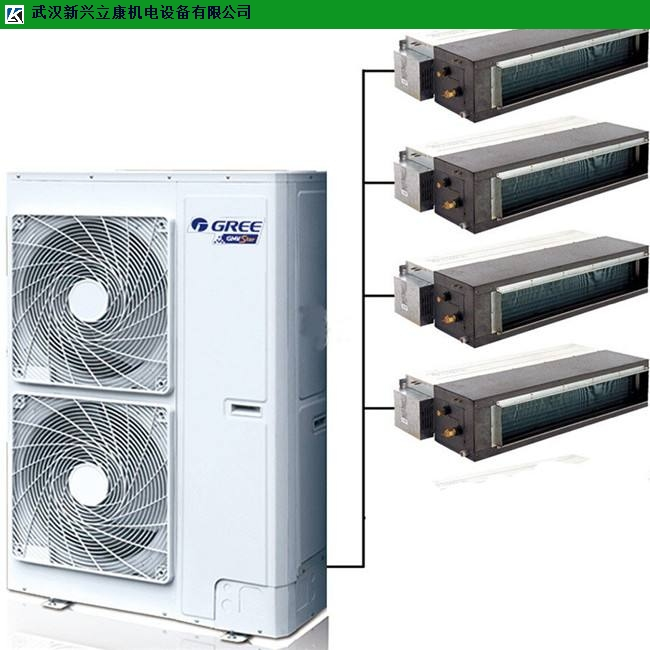 汉口网吧格力风管式中央空调保养 服务为先 武汉新兴立康机电设备工程供应