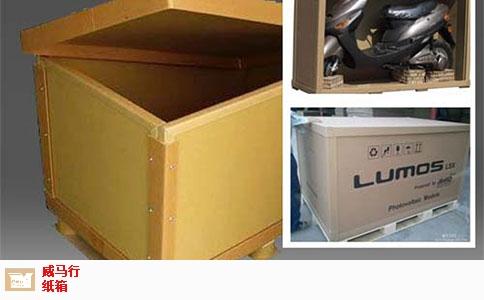 江西官方代木纸箱需要多少钱 诚信为本 无锡威马行包装制造供应