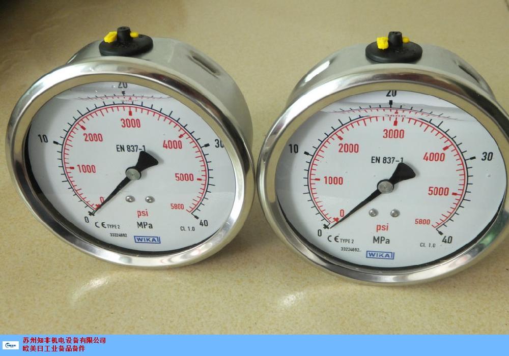 上海电接点压力表供应商 诚信互利 苏州知非机电设备供应