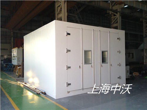 提供上海市步入式恒温恒湿实验室价格中沃供