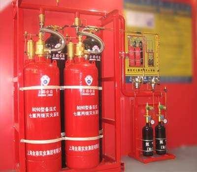 120L七氟丙烷灭火系统/QMP120型金盾药剂瓶
