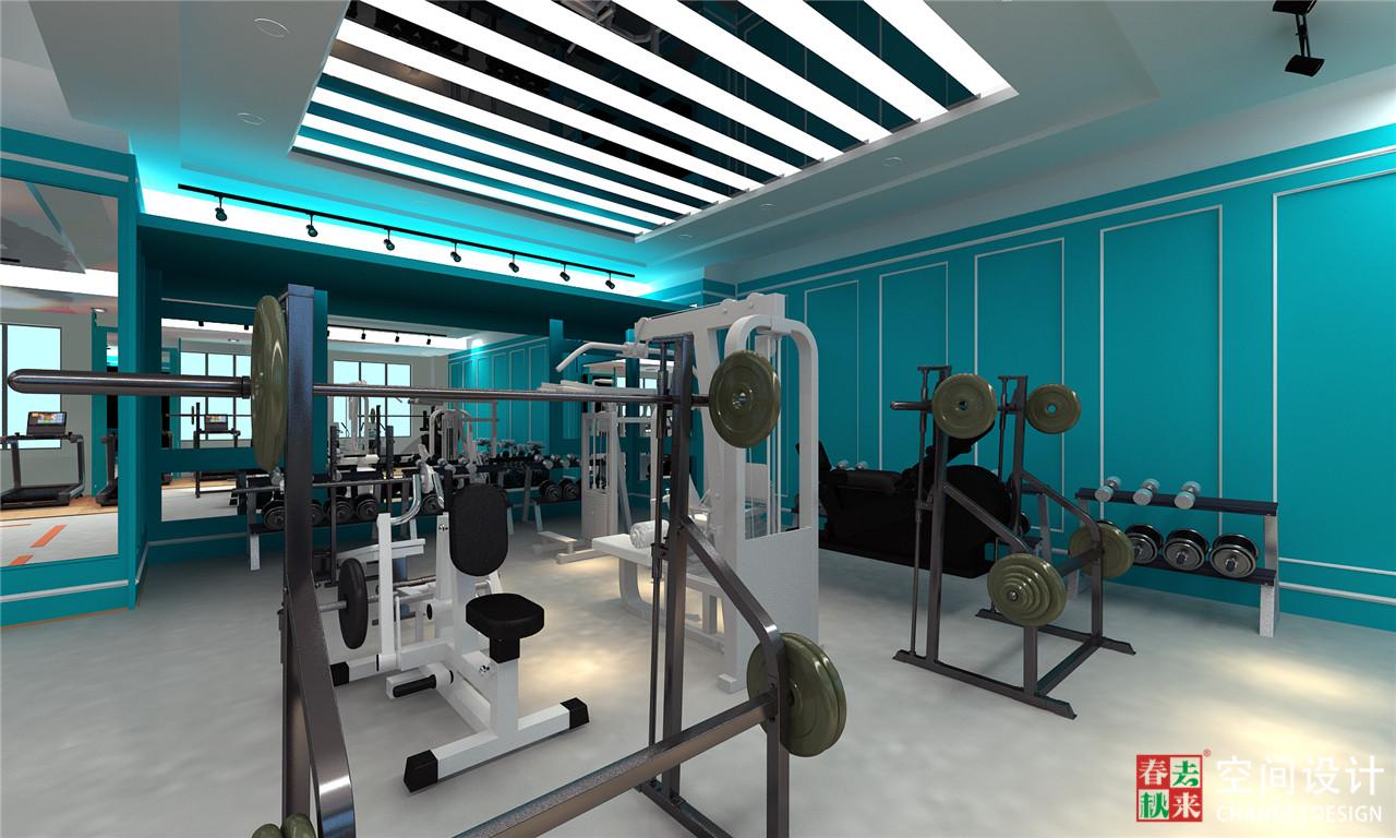 成都遂丰健身会所空间设计,健身会所