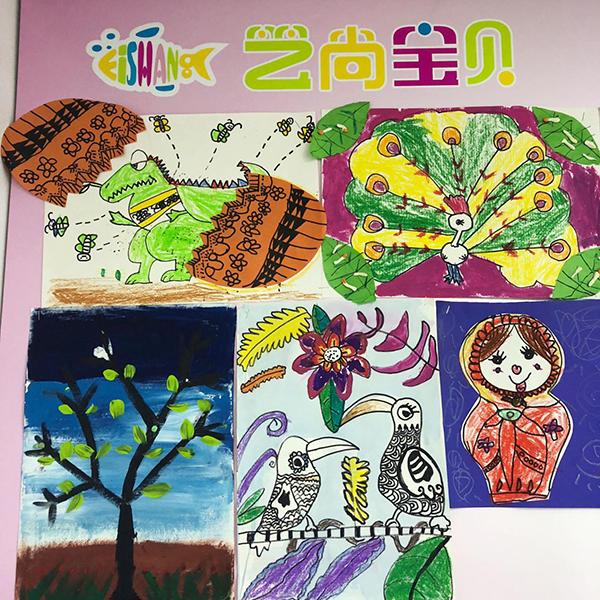 张家港少儿创意美术辅导「艺尚宝贝供应」