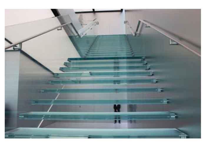 南通台阶玻璃加工
