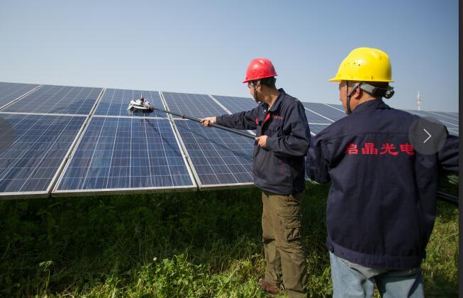 泰兴200W太阳能电站