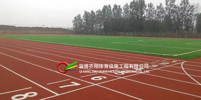 烟台田径塑胶跑道生产厂家「齐翔体育供应」