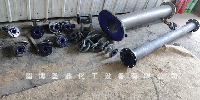 電加熱搪瓷管道生產企業「淄博圣鼎化工設備供應」