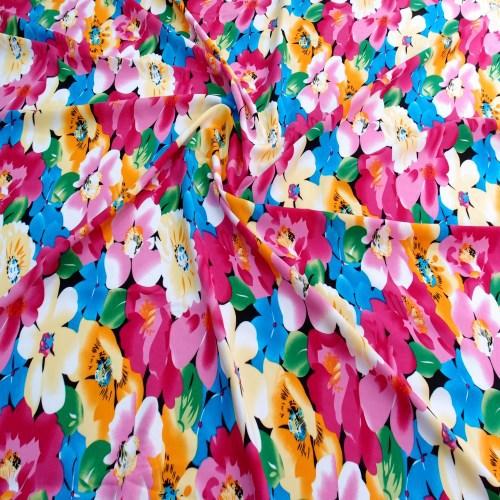 浙江优质人造棉布制造厂家 创造辉煌「高密市龙升纺织供应」