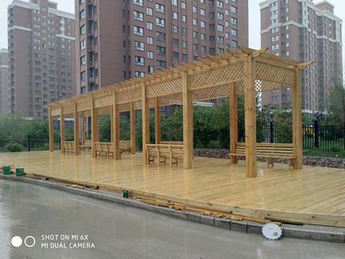荔城區便宜的防腐木涼亭