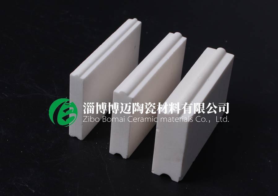云南旋流器用弧形耐磨陶瓷衬片黄页 淄博博迈陶瓷材料供应