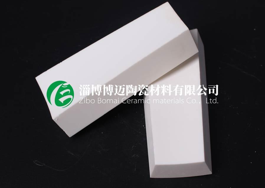 云南旋流器用弧形耐磨陶瓷衬片定制 淄博博迈陶瓷材料供应