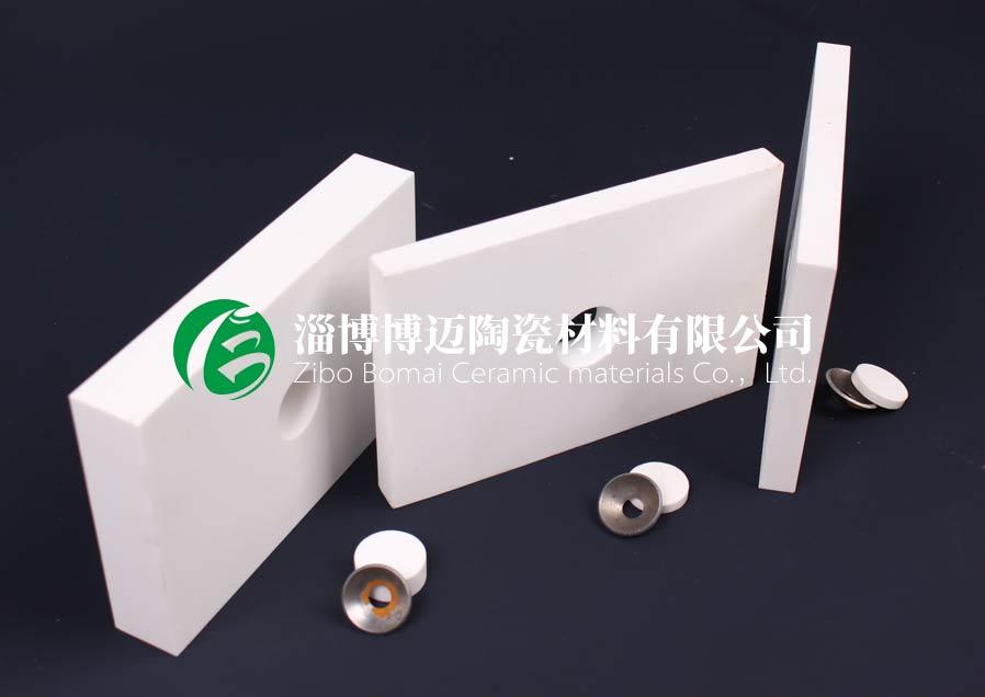 云南旋流器用弧形耐磨陶瓷衬板批发 淄博博迈陶瓷材料供应
