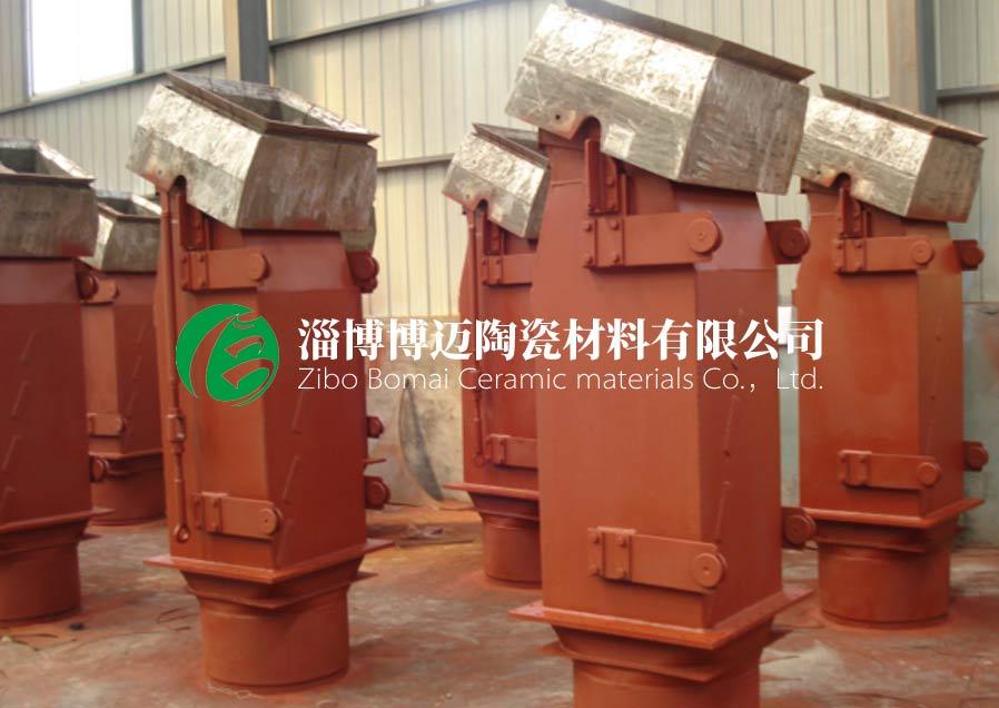 云南刚玉耐磨陶瓷管道弯头订购 淄博博迈陶瓷材料供应