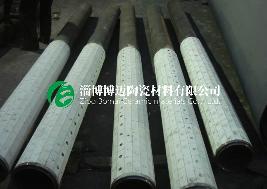 云南90度耐磨陶瓷管道弯头厂家直供 淄博博迈陶瓷材料供应