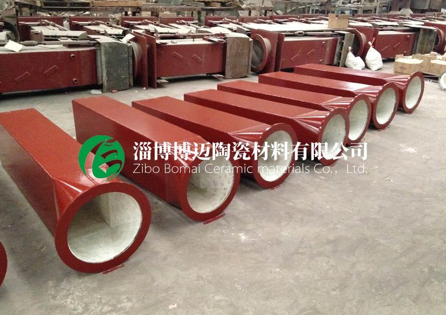 云南复合耐磨陶瓷管道弯头生产厂家 淄博博迈陶瓷材料供应