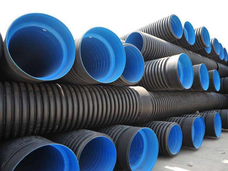 莱芜质量PE钢带排水管厂家 淄博齐泰武峰塑业供应