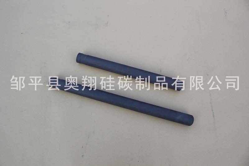 安徽锌液碳化硅保护管经销商 邹平奥翔硅碳供应
