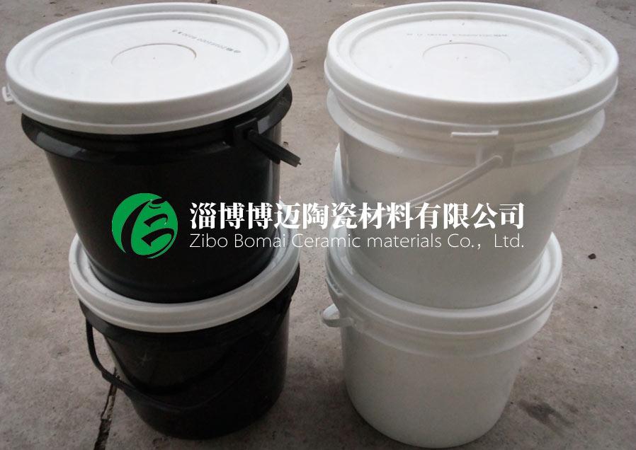 安徽陶瓷片粘结胶耐磨陶瓷胶厂家电话号码 淄博博迈陶瓷材料供应