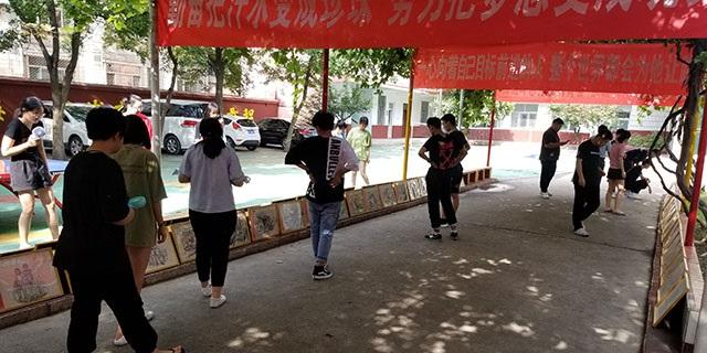 柳泉路附近中考素描 淄博新动力画室服务