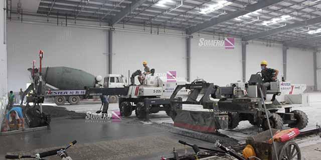上海市大型工业地坪整平机常用解决方案 创造辉煌 上海朔马珞机械设备供应